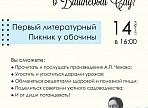 В Ульяновске пройдёт первый литературный пикник у обочины