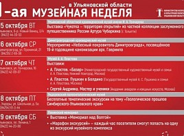 «Музейная неделя в Ульяновской области»