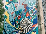 В Ульяновской области в третий раз прошёл стрит-арт фестиваль «Контур»